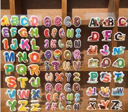posto de estacionamento Desconto 17 * 7 cm dos desenhos animados crianças quarto adesivos de parede cecor abc número animais dos desenhos animados crianças pequenas adesivos brinquedos