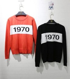 Wholesale Computer Numbers - Wholesale-2015 hottest fashion vintage 1970 number vintage soft sweater