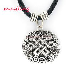 Wholesale Celtic Knot Pendant Wholesale - Pendants Necklace Chain Jewelry For Women Good Luck Chinese Knots Accessories Metal Reiki Pendulum Amulet Hip Hop Decorations Gifts