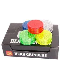 2019 herb herbe 3 Layer Wee Grinder En Plastique New Herb Broyeurs Herbe Feuille Magnétique Dab Dents De Requin Pollinator Broyeur Accessoires Fumeurs Pour Tabac 60mm herb herbe pas cher