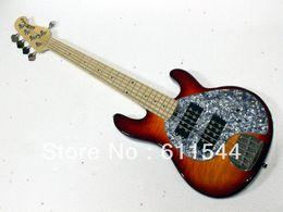 Wholesale Bass Music Man Strings - Custom Shop Newest Sunburst Music Man StingRay 5 Electric Bass High Quality Free Shipping
