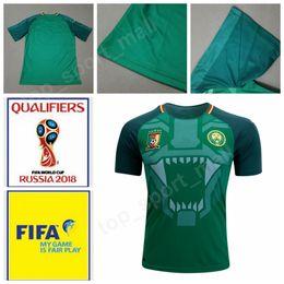 2019 camarões jersey Camarões Jersey Seleção Nacional 2018 Copa do Mundo 10  Vincent Aboubakar Camisa de 16ead8cba4935