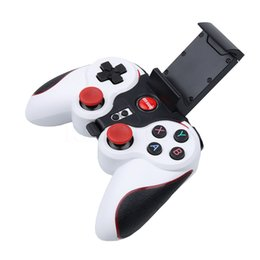 Deutschland Gute qualität S5 Wireless Bluetooth Gamepad Joystick für Android Smartphone Tablet PC Fernbedienung Mit Halter supplier good bluetooth Versorgung