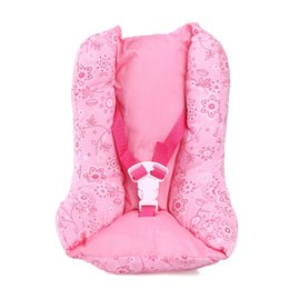 Fashion Pink Warm Dot Sleeping Bag Wear Fit 43cm Baby Born And 18inch American Girl Doll Accessories Kids Gift