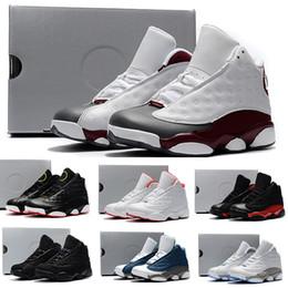designer fashion e0785 834eb Nike air jordan 13 retro Kinder Turnschuhe 13 Basketballschuhe 2018 für  Jungen Mädchen schwarz rot weiß schwarz rosa billig XIII Verkauf hohe  Top-Qualität ...