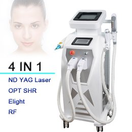 Wholesale Laser Machines For Sale - Great painless elight hair removal OPT SHR machine for sale!Good price Elight SHR skin rejuvenation IPL RF Nd Yag laser machine