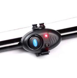 Canada Petite pêche MINI électronique sans fil ABS poisson morsure alarme sonore en cours d'exécution LED sensible tapis de pêche accessoires cheap electronic fish sound alarm Offre