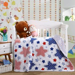 Wholesale Aqua Print Comforter - 2017 Cartoon 100% Cotton Comforters & Duvets For Kid Fashion Summer Bedspreads Quilt Quilted Bedspread Stitching Comforter XB01