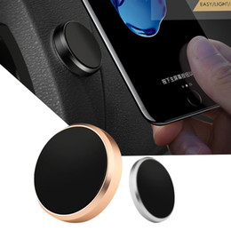 Wholesale Roses Stick - For iphone 8 X Car Mount Holder Luxury High Quality Metal Flat Stick Car Magnetic Mobile Phone Holder for car accessorie with Retail Package
