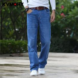Calças de brim Dos Homens Hip Hop Nova Moda Jean Masculino Casual Solto Em  Linha Reta Grandes Pernas Calças Plus Size Calças Jeans Stretch Mens  Streetwear ... 1949cbdb387