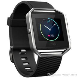 Smart Watch Wrist Watches Il cinturino in morbido cinturino in silicone è un orologio intelligente più intelligente per Fitbit da cinghia a impulsi fornitori
