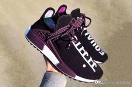 Wholesale Cheap Training Tables - 2018 New Human Race Pharrell Williams X NMD Sports Running Shoes,discount Cheap top Athletic mens Outdoor Boost Training Sneaker Shoes Box