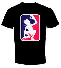Herr ringe drucken online-Gollum Herr der Ringe 6 T-Shirt Streetwear Funny Print Kleidung Hip-Tope Mans T-Shirt Übersteigt T-Stücke