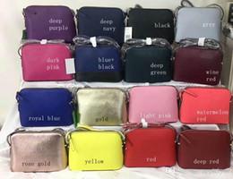 18 cores Famosa Marca Bolsas de grife crossbody Bag Cross body mulheres Bolsas de Ombro estilo Shell de