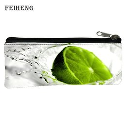 Wholesale Gift Bags Retail - Wholesale- Retail 2016 Popular Polyester 100% Printing Fresh Girls Key Wallets Black Students Pen Bags Womens Coin Purses Babys Gift Bags