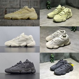 shoes blush Promo Codes - 2019 Desert Rat 500 running shoes with box Kanye  West Utility 1eebc4379