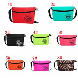 Wholesale Waist Pouch Bags - 8 color pink Travel waist pack beach women bag Pink waterproof Pack Belt Bag Phone Pouch Bags Travel Waist Pack KKA4828