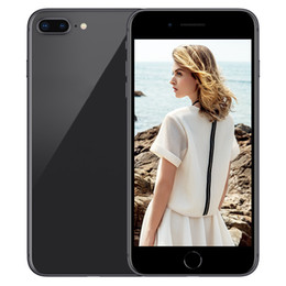 Wholesale Hot Video Player - Hot Selling Goophone i8 i8 Plus 5.5 inch MTK6582 Quad Core 1GB RAM 8GB ROM With Touch ID android 6.0 3G NOT 4G LTE Unlocked Smartphone