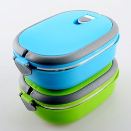 Wholesale Blue Compound - Kids Bento Box Child Single Layer Stainless Steel Vacuum Lunch Box Keep Warm Food Container for School