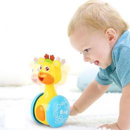 2019 blocs d'activité Jouet pour bébé Tumbler Explosion 0-1 gros nouvelle arrivée jouets drôles avec caoutchouc dentaire hochet jouet infantile mignon jouet