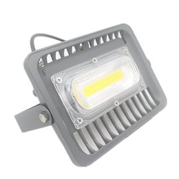 Feux anti-alentours en aluminium en Ligne-La lumière d'inondation ultra-mince de LED 30W en aluminium d'intense luminosité AC85-265V imperméabilisent l'ÉPI extérieur a mené le projecteur de projecteur pour la maison de jardin