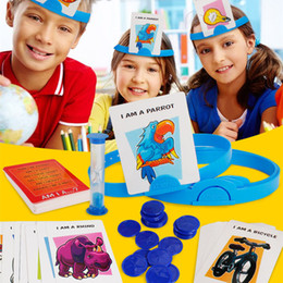 Wholesale toys games for boy - Educational Game Guess What Am I Intelligence Toys For Parents Children Boys Girls Interesting Family Game NNA104