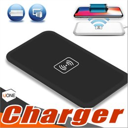 Wholesale Qi Wireless Charger Transmitter Iphone - MC-02A Qi Standard Universal Wireless Charger Pad Power Bank Portable Transmitter Accessary For Samsung Galaxy S6 S7 Edge Iphone 8 Note 8