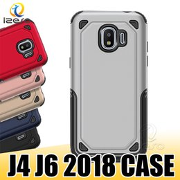 Couvertures robustes en Ligne-Pour Samsung Galaxy J8 J6 J4 J2 J2 Pro A8 A6 Plus J7 NEO 2018 hybride Renforcé Armure Téléphone Coque Housse De Protection