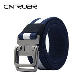 Wholesale Girdle Pants - CNRUBR Casual Canvas Mens Belts Luxury Brand Design 140cm Army Tactical Belts Military Equipment Pants Girdle Straps For Male