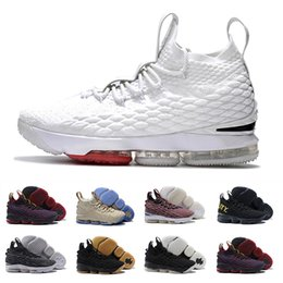 Wholesale Sports Casual Shoes Mens - With box High Quality Ashes Ghost cavs equality James 15 15s men Basketball Shoes James 15 sports Sneakers 15s Mens Casual Shoes 7-12