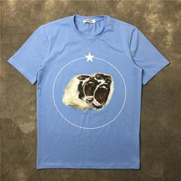 Wholesale Monkey Top - 2018 summer NEW hip hop Fashion Casual monkey twins star print women tees Short sleeved Men T-Shirts tops S-XXL kanye west Brand tshirts