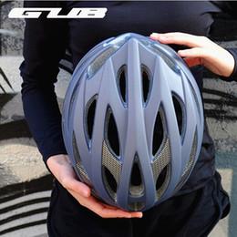 2019 dimensionamento do capacete de bicicleta rodoviária 58 ~ 65 cm L tamanho capacete Unisex 28 furos GUB DD MTB Bicicleta Estrada Ciclismo Bicicleta EPS + Integrally-Moldado Capacete de Segurança para homens 2018 dimensionamento do capacete de bicicleta rodoviária barato