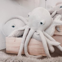 Wholesale Cartoon Toy Pillow - Cartoon Room Decor Octopus Cushion Soft Sleeping Doll Kids Baby Girl Mini Stuffed Plush Toys Gifts Nap Decorative Pillow