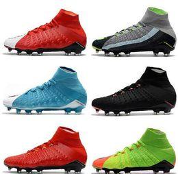 04a20373beff 2019 New Mercurial CR7 Superfly Neymar AG FG Soccer Shoes Indoor Hypervenom  Phantom III JR Football Boots Magista Obra II Soccer Cleats