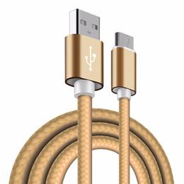 li ион зарядное устройство Скидка USB C-тип кабеля 2.4 A быстрая зарядка смартфона Android синхронизации данных адаптер нейлоновый кабель для Samsung Galaxy S9 S8 + Примечание 9 8