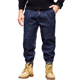 4228bc200d0c4 Punk Style Skinny Jeans For Men Blue Streetwear Hip Hop Stretch Jeans Hombre  Slim Fit Fashion Biker Full Length Denim Trousers jeans slim fit hombre for  ...