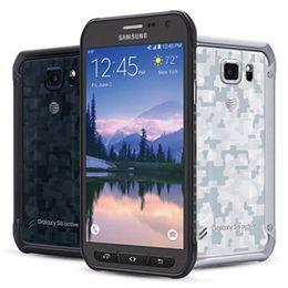 samsung разблокированные телефоны gsm Скидка Оригинальный восстановленный Samsung Galaxy S6 Active G890A 5.1-дюймовый Octa Core 3 ГБ оперативной памяти 32 ГБ ROM 16MP разблокирован 4G LTE разблокирован мобильный телефон DHL 1 шт.