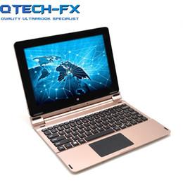 2-en-1 pantalla táctil y teclado para laptop Fast Intel Quad-Core CPU 10.1