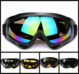 Deutschland Schwarze Rahmen-Schnee-Schutzbrillen windundurchlässiges UV400 Motorrad Snowmobile Ski-Schutzbrillen Eyewear Sport-schützende Schutzbrillen mit Bügel Versorgung