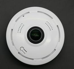 vidéo extérieure sans fil Promotion 360 Degrés Panoramique Fisheye Caméra 3D Sans Fil Wifi Caméra De Sécurité En Plein Air Super Grand Angle Soutien IR Nuit Motion De Détection Vidéo Survei