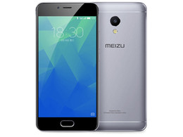 "Teléfono celular android 5s online-Original Meizu Meilan 5S 4G LTE Teléfono móvil MTK6753 Octa Core 3GB RAM 16GB / 32GB ROM Android 5.2 ""IPS 13MP Identificación de huellas dactilares Teléfono celular inteligente"