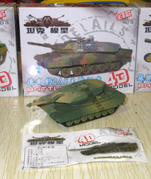 Wholesale 72 Models - 1:72 Model Tank Assembly Toy 8pcs per Set , tank kit T72 ,T-55, JSU-152,M-42,M1A2,98 tanks