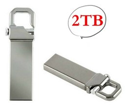2TB Real Memory Flash Drive Memory USB USB Stick U Disk Pen Pendrive (Silver Color:)
