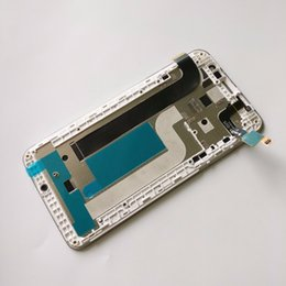 100% probado blanco original de 5,5 pulgadas para Coolpad Modena E501 pantalla LCD de reemplazo de la asamblea de pantalla táctil digitalizador con marco desde fabricantes