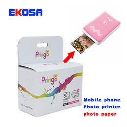 Papier photo professionnel Pringo P231 30 feuilles / boîte pour HITI Imprimante de poche Pringo P231 WiFi Mini imprimante portable Livraison gratuite ? partir de fabricateur