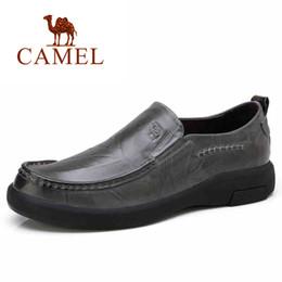 2018 kamel schuhe leder männer CAMEL Echtes Leder Männer schuhe Bequeme  Halbschuhe Schuhe Männer Hohe Qualität 23e0fabd9a