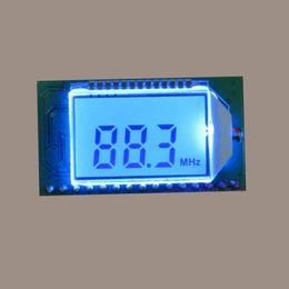 Freeshipping PLL Digital Módulo Receptor de Rádio FM 87-108 MHZ Microfone Sem Fio Estéreo de