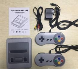 Canada Nouvelle pièce unique Europe et Amérique AV Pu Qing Super Mini classique SFC TV Console de jeux vidéo pour Mini SNES 620 Offre