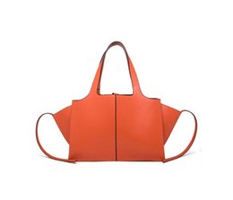 Wholesale bamboo batting - G2Z Autumn And Winter Fashion Street New Leather Women's Bag Large Capacity Retro Single Shoulder Hand-Held Wing Bat Bat Tote Female Bag