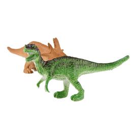 conjuntos de brinquedos de dinossauro de plástico Desconto 12 pçs / lote dinossauro toy set plastic play toys dinossauro modelo de ação e figuras melhor presente para meninos figuras